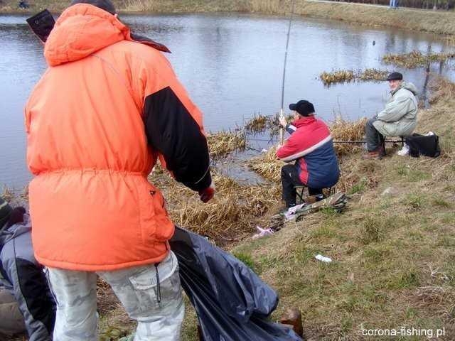 Corona Fishing na rzecz Jeziorka  Gocławskiego