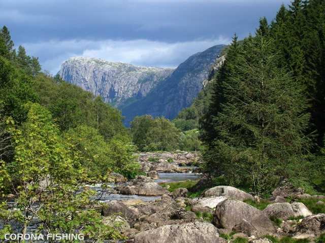 rzeka w norwegii