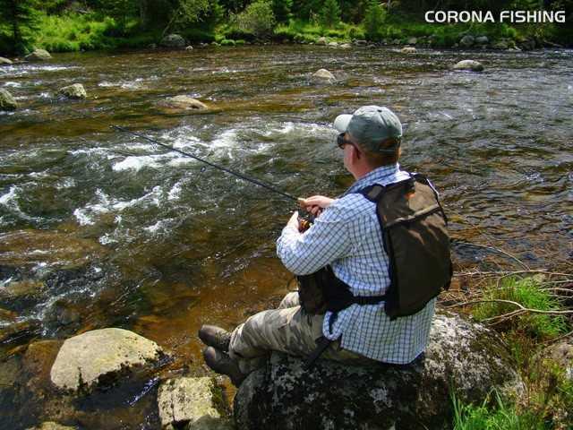 spinning rzeka górska