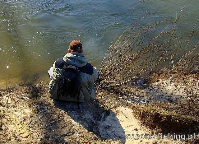ustawianie woblerów nad rzeką