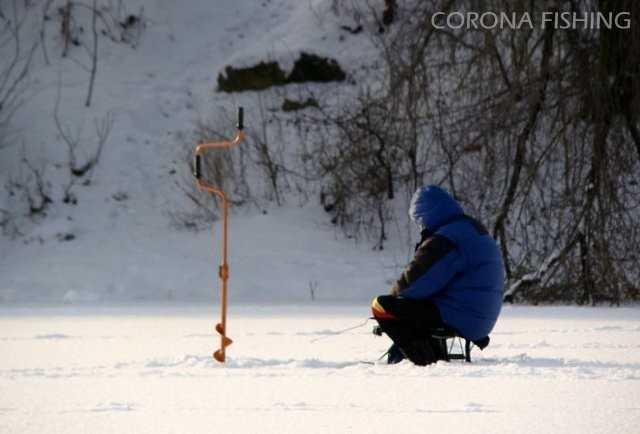 wędkowanie z lodu