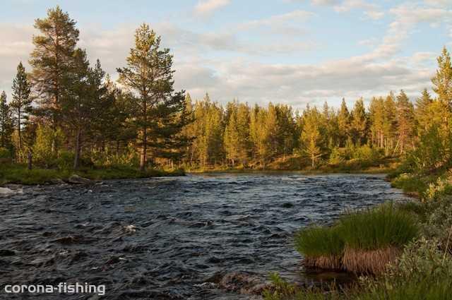 górska rzeka Norwegia