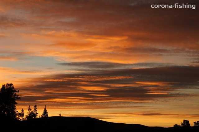zachód słońca norwegia