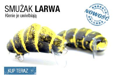 smużak larwa