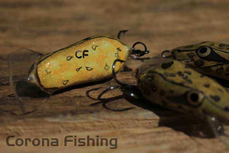 wobler żaba na lorbasa