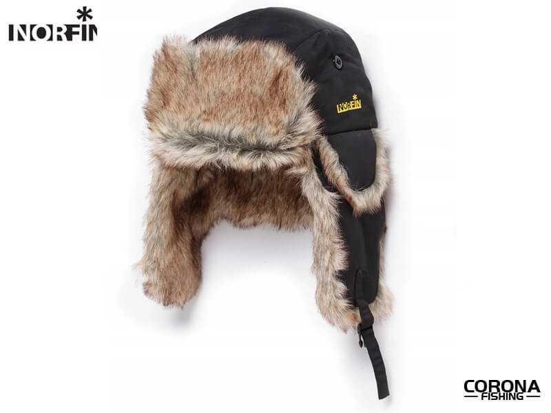 Ciepła czapka dla wędkarza Norfin Ushanka