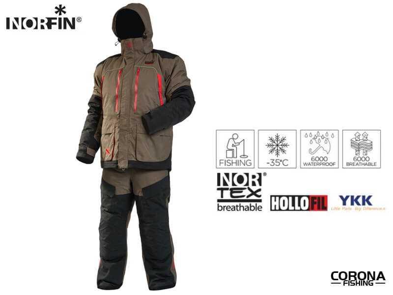 Norfin Extreme 4  kombinezony dla wędkarzy