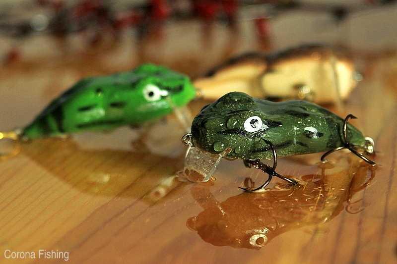 wobler - imitacja żaby